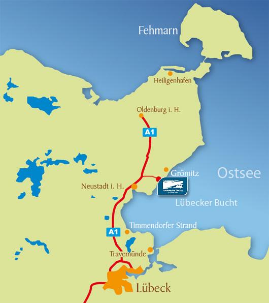 schwanitz ostsee landkarte Anfahrt | Campingland Ostsee schwanitz ostsee landkarte